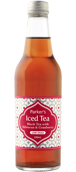 Black Tea with Hibiscus and Cranberry: 330ml