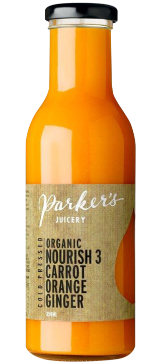 Nourish 3: Carrot, Orange, Ginger (350ml)