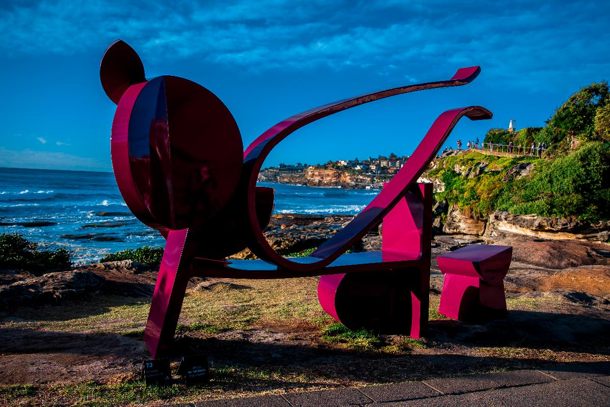 Tamarama Beach, Sculpture by the Sea, Bondi to Tamarama, Australia 2016  Nikon D750