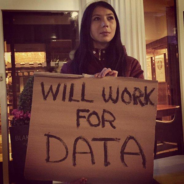 "Andrea from Romania will also work for data. <a href=""https://twitter.com/search/%23WeAreCKAN"" target=""_blank"">#WeAreCKAN</a>. Post your own pic :) Tech teams, let's go! <a target=""_blank"" href=""http://t.co/kOdHIk5znv"">http://t.co/kOdHIk5znv</a>"