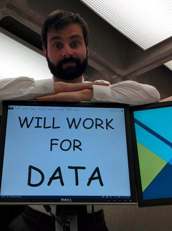 """Hey @CKANproject, can I work for data too? <a href=""""https://twitter.com/search/%23WeAreCKAN"""" target=""""_blank"""">#WeAreCKAN</a> <a target=""""_blank"""" href=""""http://t.co/EkqPOmF3y8"""">http://t.co/EkqPOmF3y8</a>"""