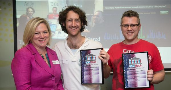 "Consensus by Yakkity Hacks wins @brisbanecityqld Mashup <a href=""https://twitter.com/search/%23GovHack"" target=""_blank"">#GovHack</a> Award - video: <a target=""_blank"" href=""https://t.co/KW2jW0yM9e"">https://t.co/KW2jW0yM9e</a> <a target=""_blank"" href=""http://t.co/ADdHSdIjqK"">http://t.co/ADdHSdIjqK</a>"