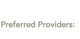 preferred healthcare providers