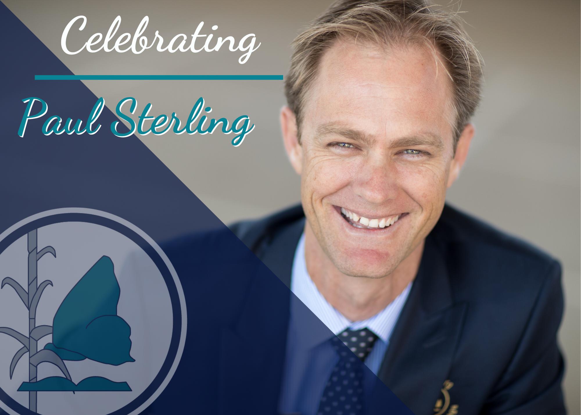 Celebrating Paul Sterling