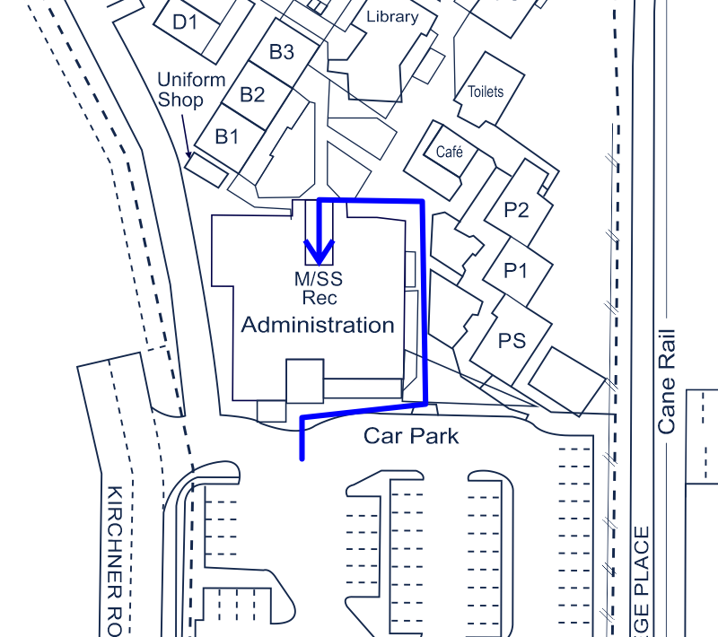 Parent Access Route