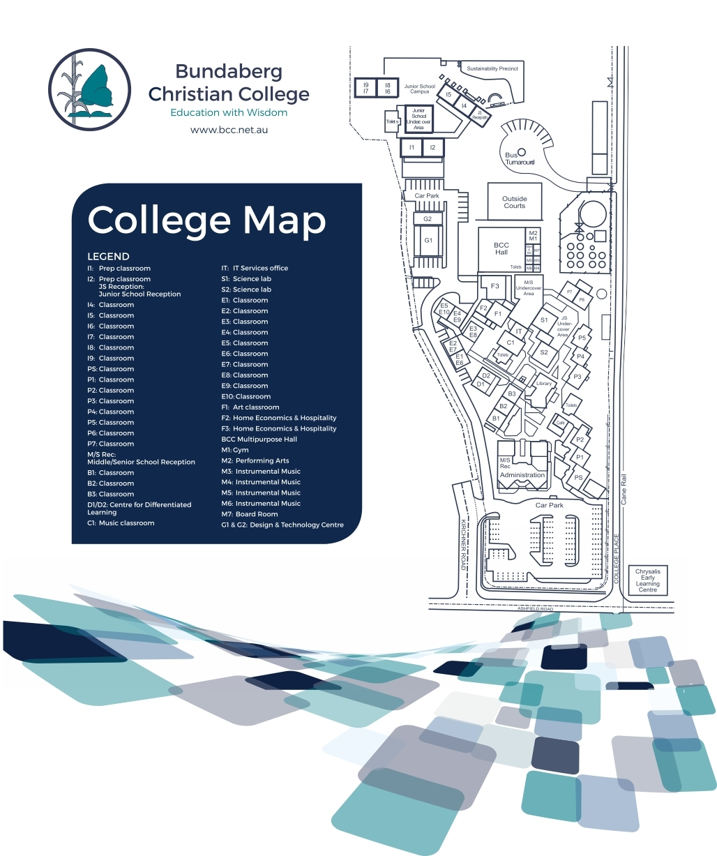 School Map Bundaberg Christian College