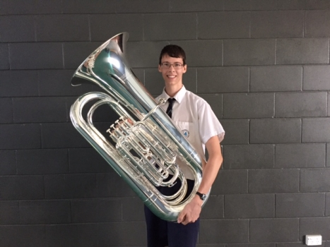 Matthew And Tuba