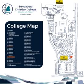 Bundaberg College Map 1200Mm Reduced Jan 2019