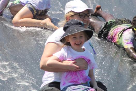 Amelia On Slide