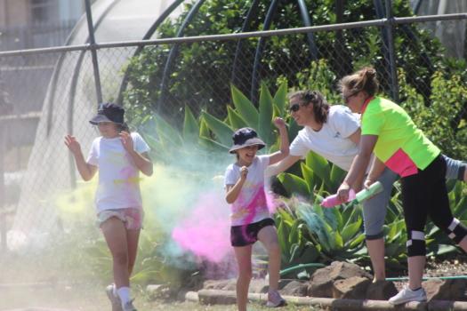 Spraying Colour 3