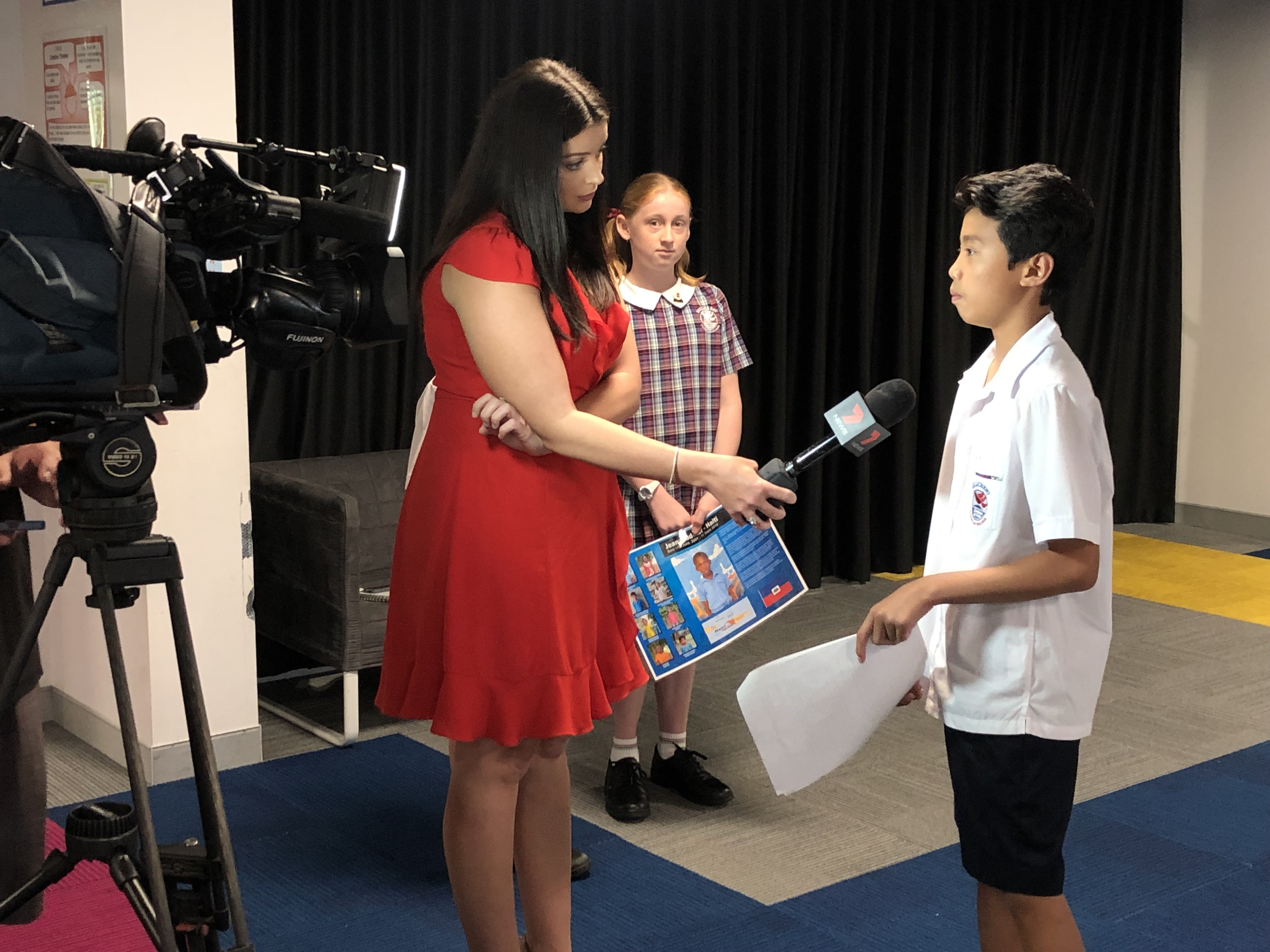7 News Team Teach Tricks of the Trade | Hillcrest Christian College