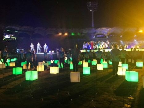Performers At Closing Ceremony 3
