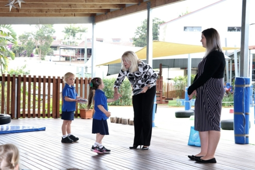 Presentation Of Flags To Kindy 2