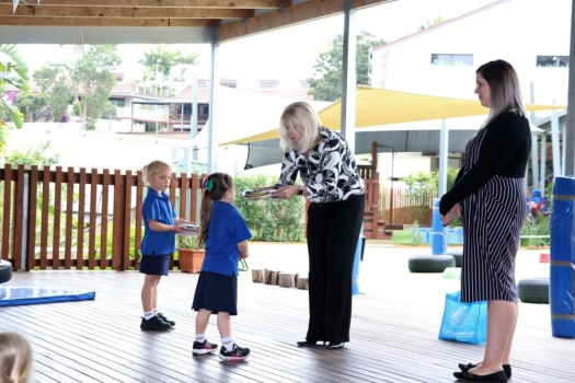 Presentation Of Flags To Kindy 3