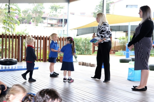 Presentation Of Flags To Kindy 4