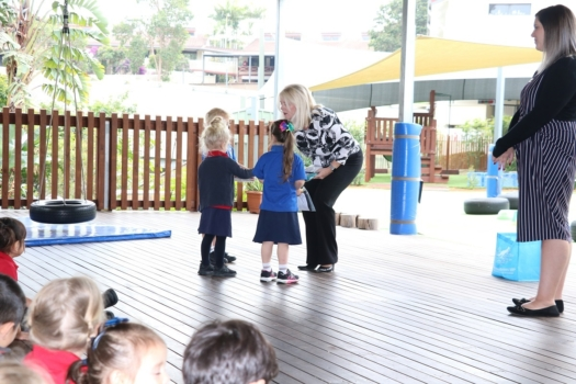 Presentation Of Flags To Kindy 5