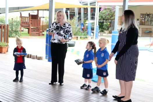 Presentation Of Flags To Kindy 6