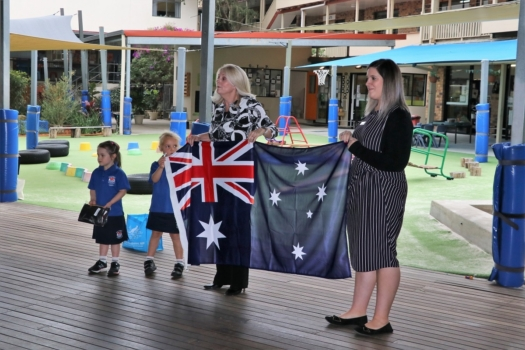 Presentation Of Flags To Kindy 8