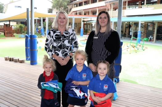 Presentation Of Flags To Kindy 12