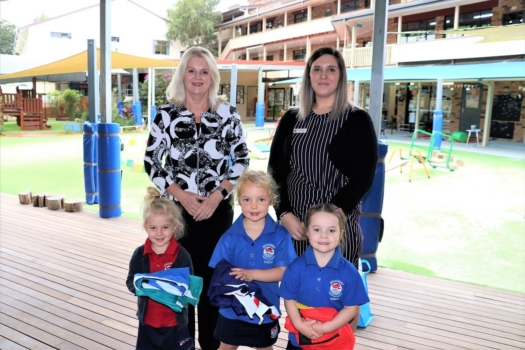 Presentation Of Flags To Kindy 13