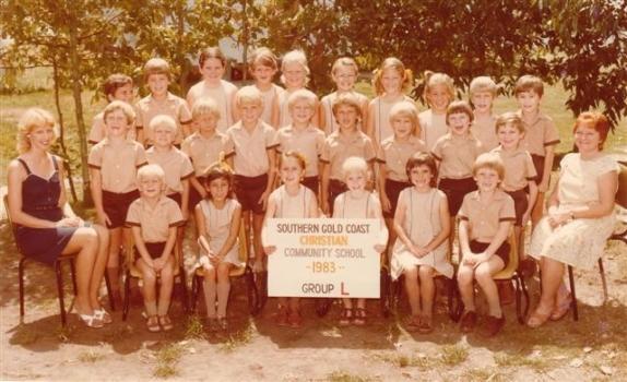 1983 Class Photo Group L