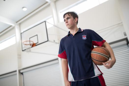 Male Basketballer