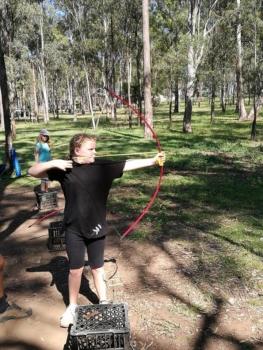 Year 6 Camp Archery 2