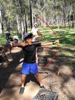 Year 6 Camp Archery At Camp