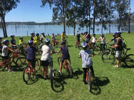 Year 6 Camp Bike Ride