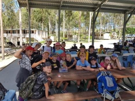 Year 6 Camp Birthday At Camp