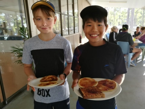 Year 6 Camp Camp Food