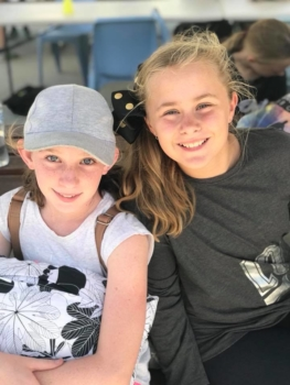 Year 6 Camp Camp Girls