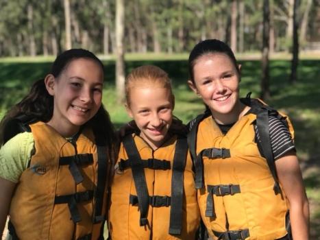 Year 6 Camp Girls On Camp 3