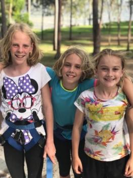 Year 6 Camp Girls On Camp 4