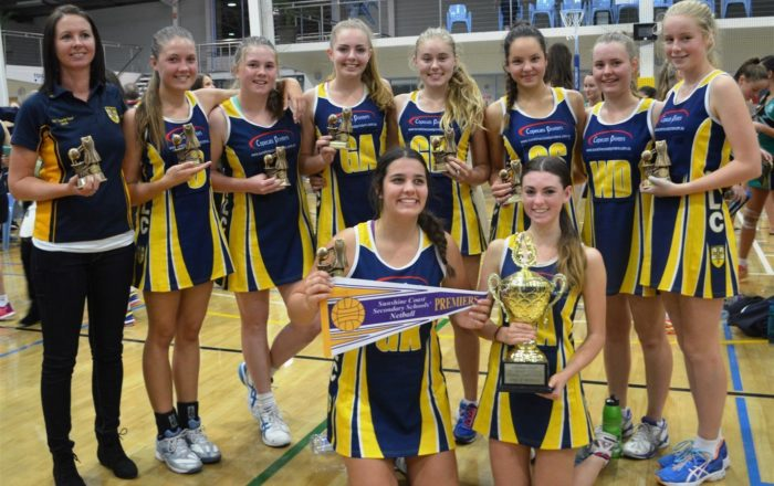 Netball Premiers Immanuel Lutheran College