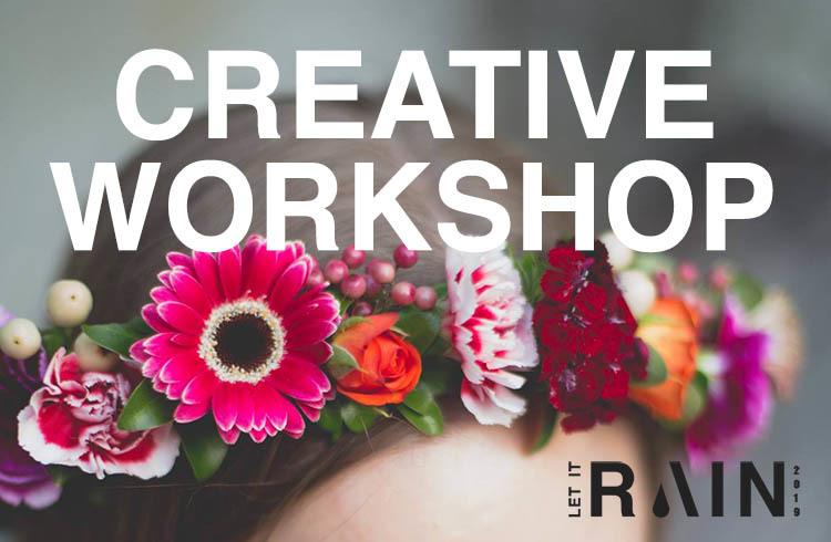 Creative Workshop - Flower Crows