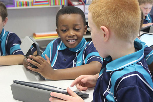 2 Primary Boys Ipads