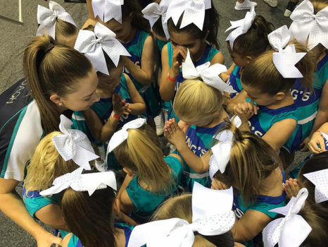 Praying Before Cheer