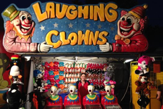 Laughing Clowns Signs