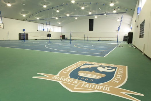 Gym Interior Shield