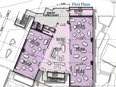 Rc Primary Building First Floor Plan