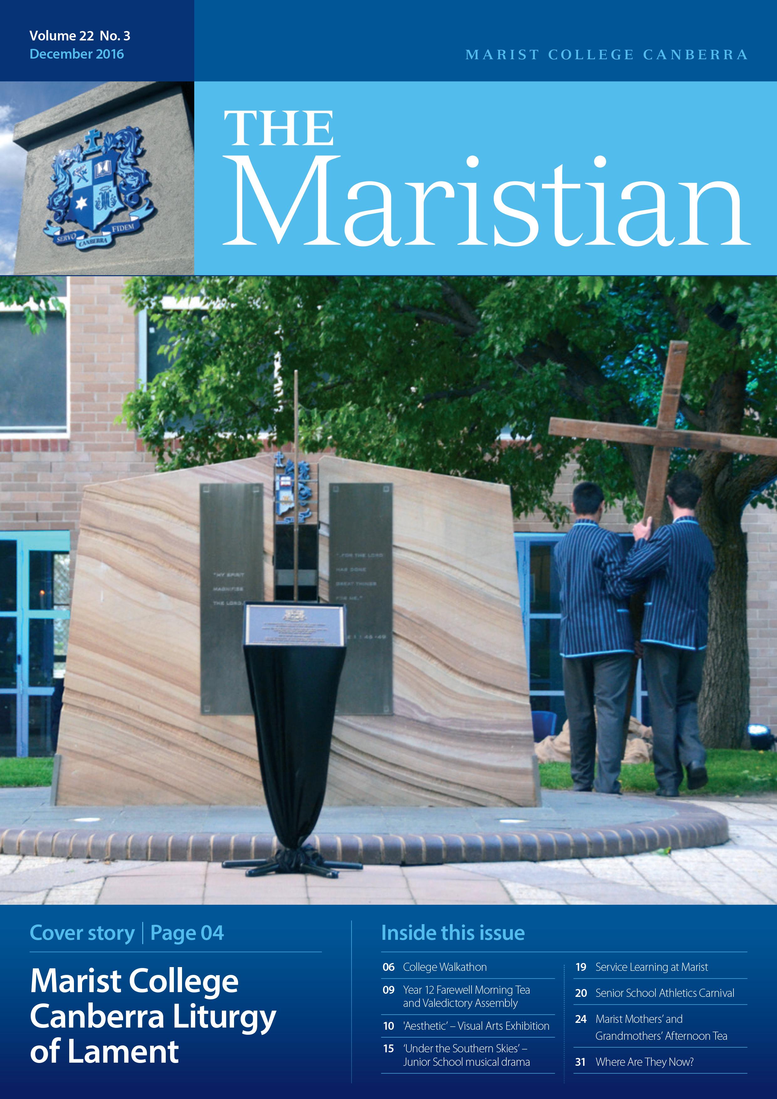 The Maristian - December 2016