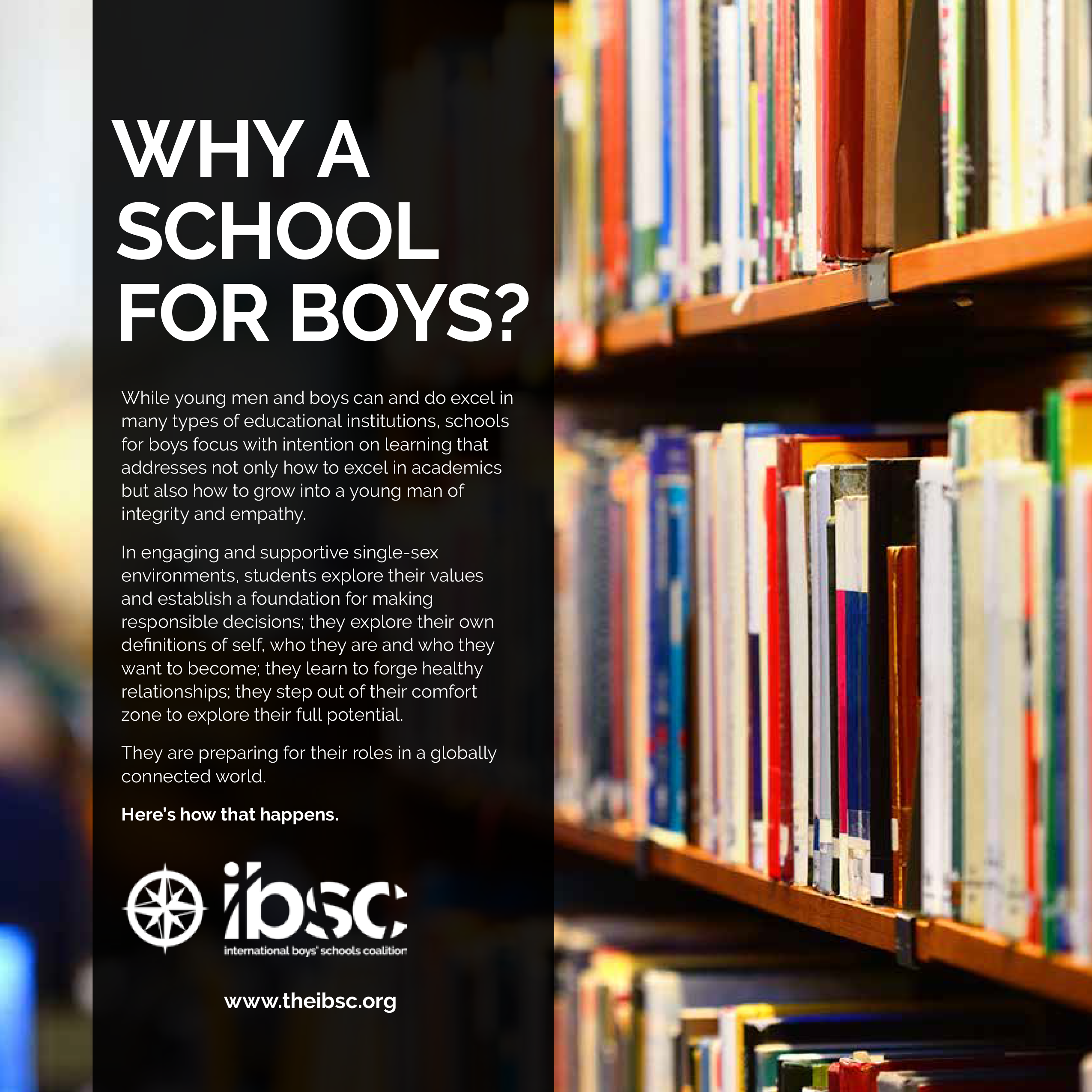 Why a School for Boys