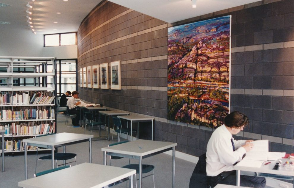 1991 Gregory Fish Library