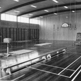 Inside Gymnasium 1962