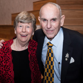 Peter with his wife, Coral