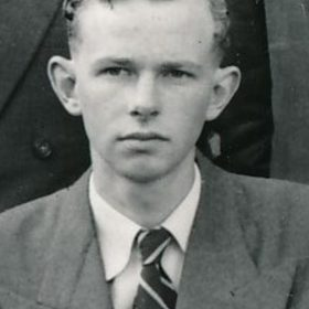 Geoffrey Goode Head Prefect 1955