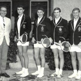 1968 John Wyatt Tennis Team