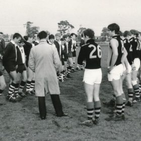 1968 Om Football V School Old Keysborough Ground Kwj Addressses The Teams