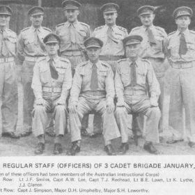 Cadet Brigade 1950